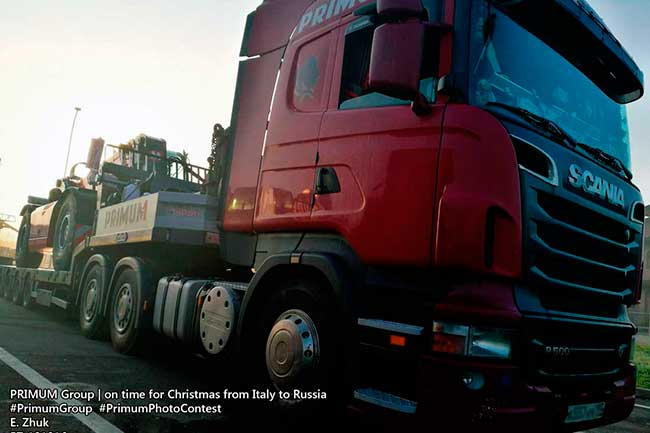 Christmas rush delivery from EU to Russia & CIS