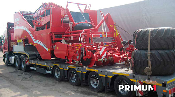 Agricultural equipment & machinery delivery from Europe to Russia, Kazakhstan, Mongolia