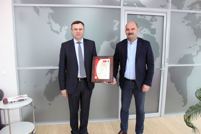 PRIMUM Group receives TAPA TSR certificate from Bureau Veritas