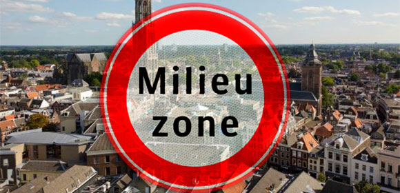 Environmental zones in the Netherlands for heavy duty trucks